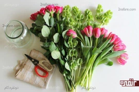 راهکارهایی برای شاداب نگهداشتن گلهای شاخه بریده