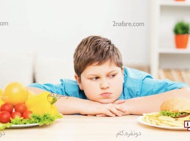 راهکارهای کاهش وزن کودک چاق