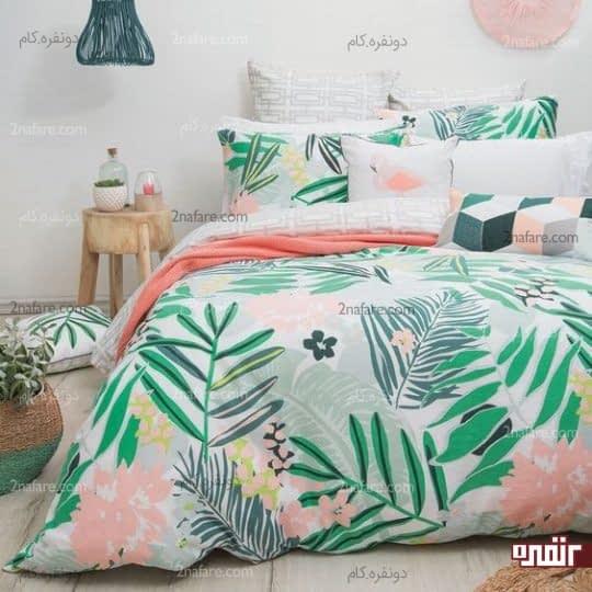 رختخواب رنگی و تابستونه
