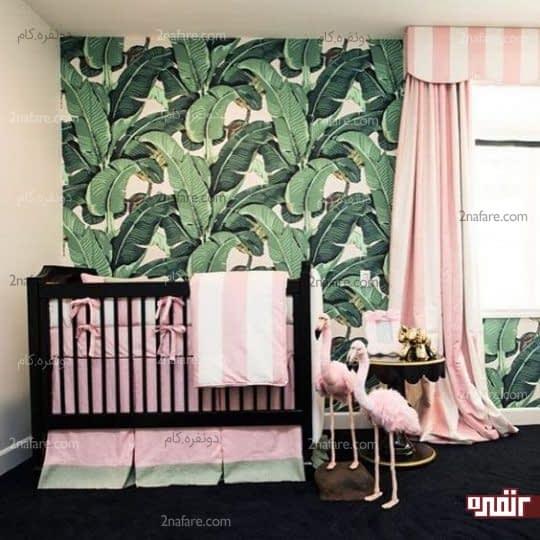 رنگ صورتی برای تزیین اتاق خواب دخترونه