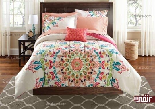 روتختی های زیبا با رنگ صورتی برای اتاق خواب های دخترانه