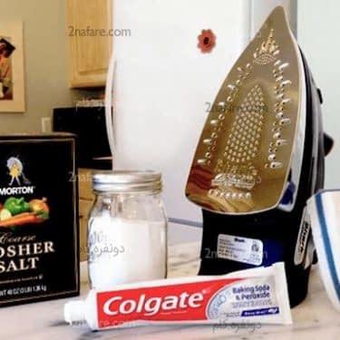 سه روش تمیز کردن اتو
