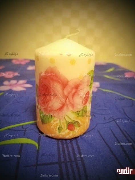 شمع گل گلی