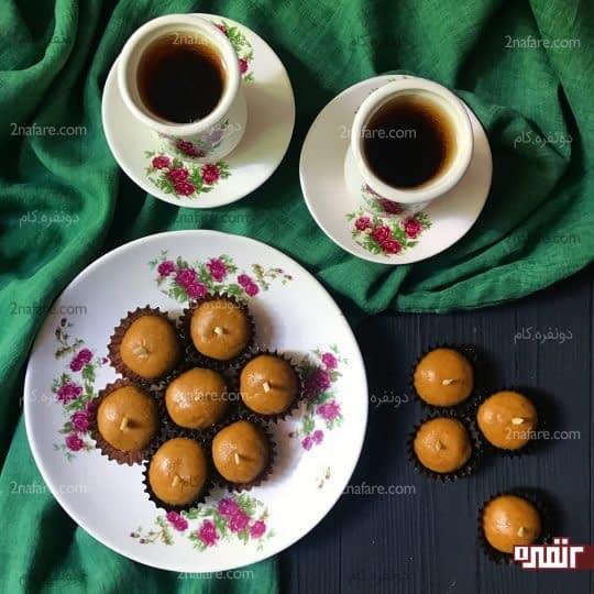 شیرینی لقمه ای مخصوص رمضان