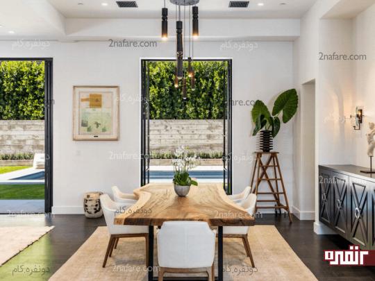 طراوت و روشنایی خانه با گل و گیاه