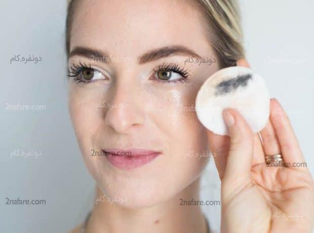 طرز تهیه پاک کننده طبیعی آرایش صورت
