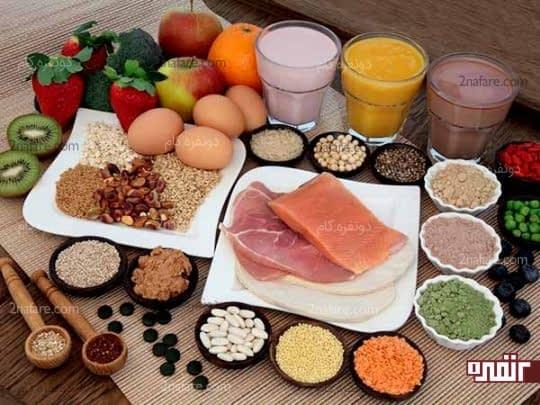 غذاهای دارای پروتئین
