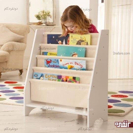قفسه کتاب روباز