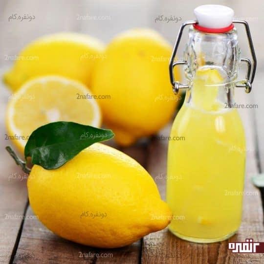 درمان ریزش مو با استفاده از لیمو