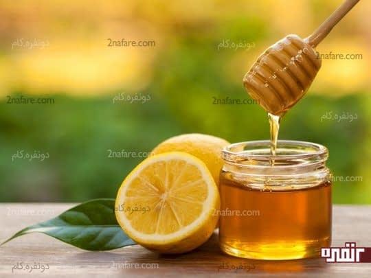 استفاده از لیمو و عسل برای نرم کردن مو