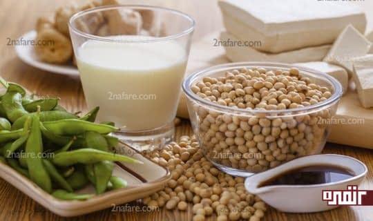 مصرف محصولات سویا برای مقابله با دیابت
