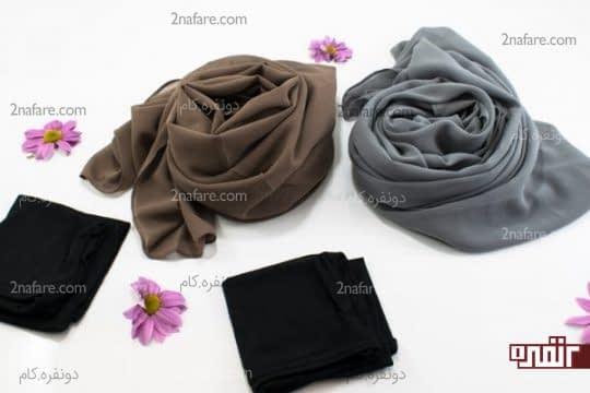 مدل های زیبای بستن شال و روسری