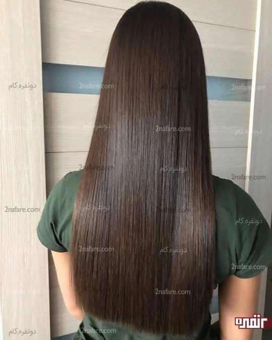 به دست آوردن موی درخشان