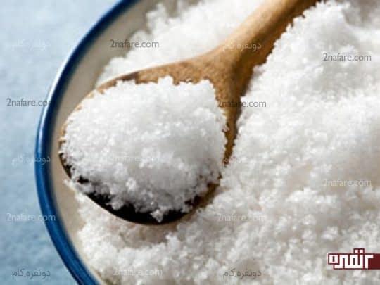 نمک سفید کننده دندان ها