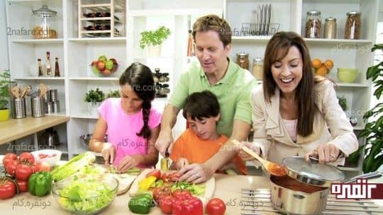 همراهی کودک توسط اعضای خانواده در دوره کاهش وزن