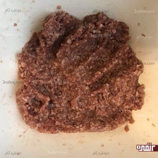 ورز دادن گوشت
