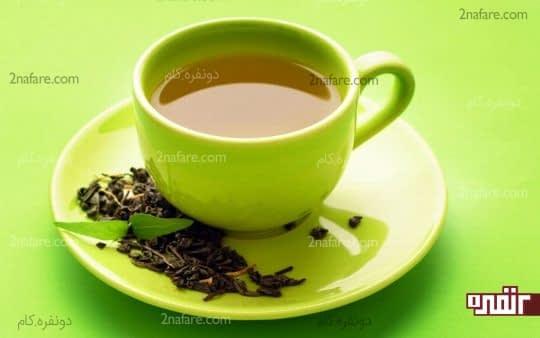 چای سبز حاوی آنتی اکسیدان و مواد مغذی است