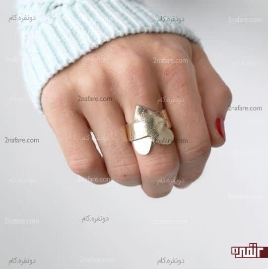 چسباندن انگشتر