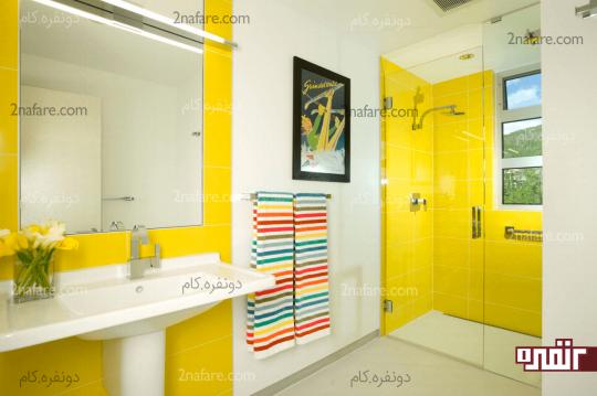 چطور از رنگها برای دکور سرویس بهداشتی استفاده کنیم؟