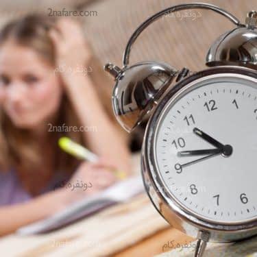 چگونه فوت و فن مدیریت زمان را به نوجوانان آموزش دهیم
