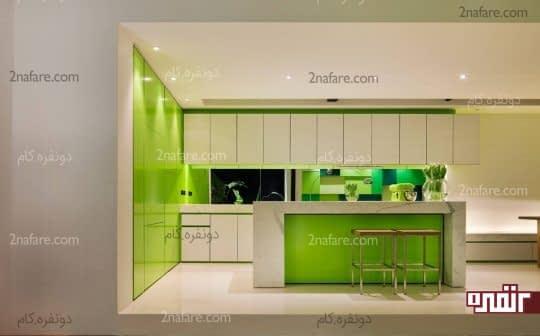 کاربرد سبز لیمویی برای آشپزخونه مدرن