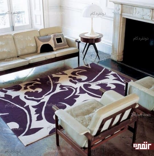کاربرد فرش در دکوراسیون خانه های اجاره ای برای تغییر در کف