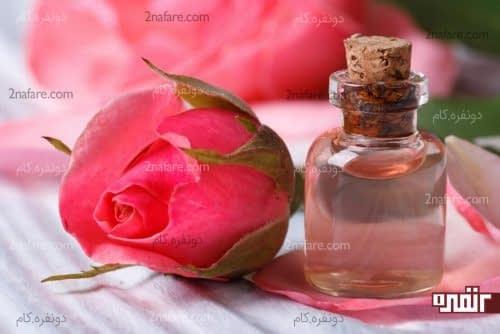 استفاده از گلاب برای زیبایی