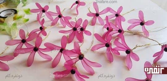 گلهای اماده شده