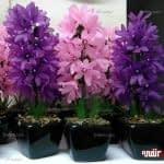 آموزش ساخت گل سنبل کریستالی
