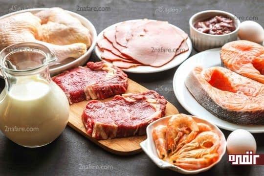 استفاده از پروتئین در رژیم غذایی کودک