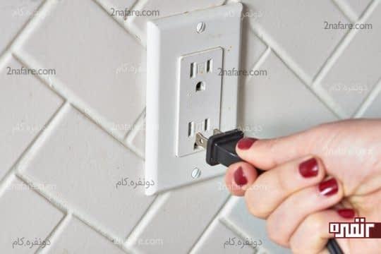 از برق کشیدن آرام پز برای جلوگیری از خطر برق گرفتگی