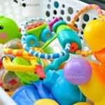 میکروب زدایی اسباب بازی کودکان با یک روش خانگی