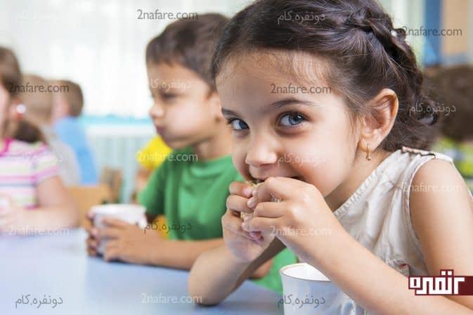 میزان کالری مصرفی روازنه کودکان 4 تا 8 سال