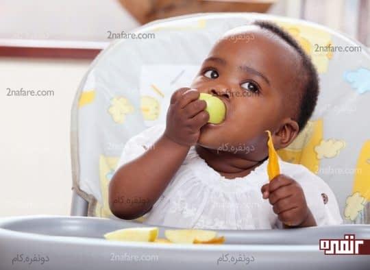 میزان کالری مصرفی روزانه کودکان 2 تا 3 سال