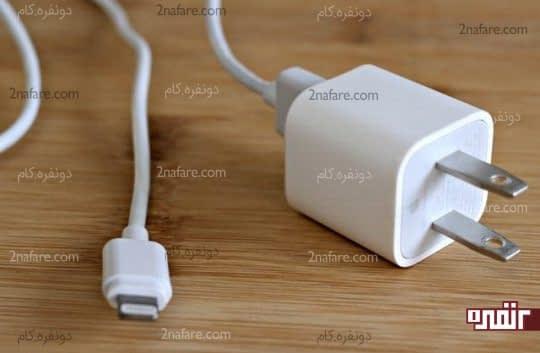 پاک کردن شارژر تلفن همراه