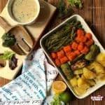 طرز تهیه خوراک سبزیجات طعم دار