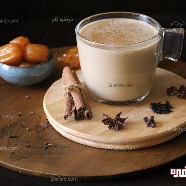 طرز تهیه شیرچایی