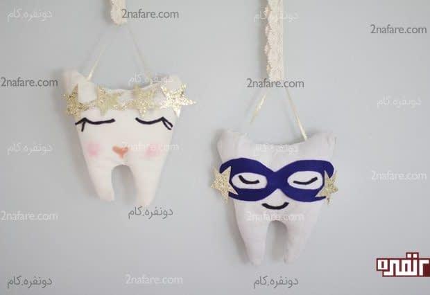 آموزش ساخت بالشتک دندان