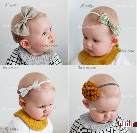 آموزش ساخت هدبند نوزادی ساده و زیبا