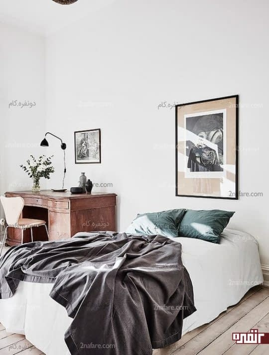 اصول طراحی دکوراسیون داخلی اتاق خواب مهمان