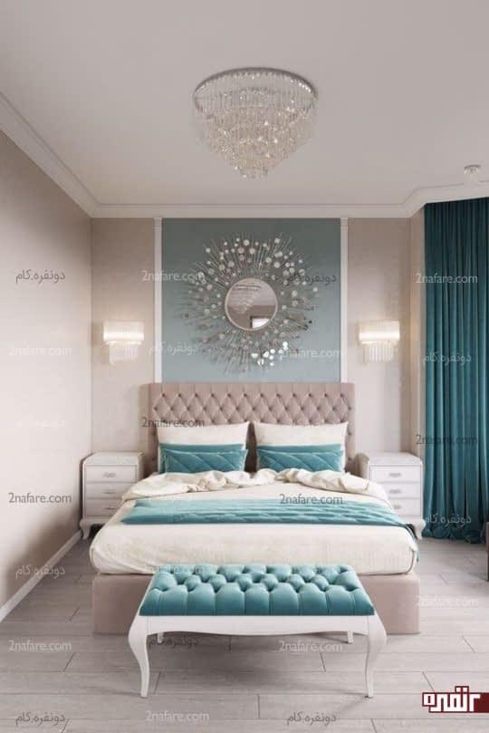 اتاق خواب مدرن و مرتب