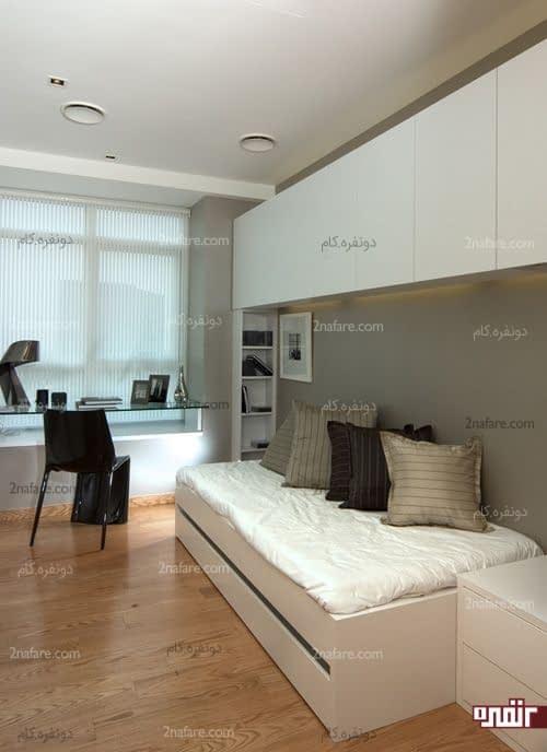 اتاق خواب مهمان به سبک مدرن