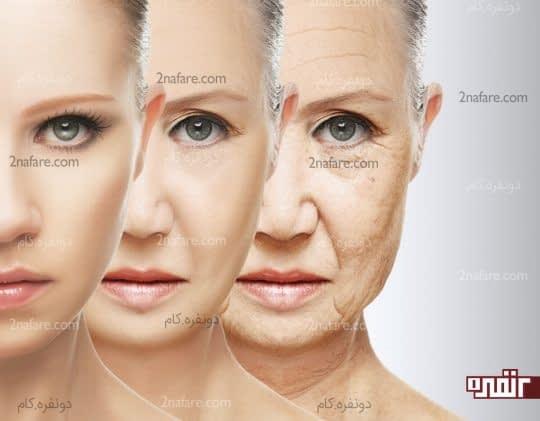 اثر ضد پیری بر روی پوست دارد