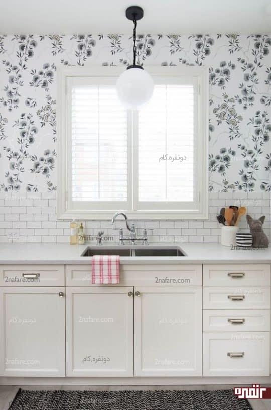استفاده از کاغذ دیورای برای آشپزخانه
