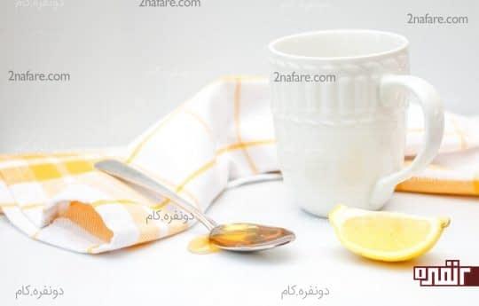 اسکراب لیمو وعسل
