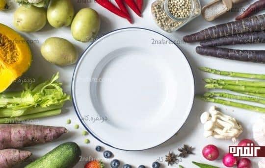 اصلاح عادات غذا خوردن