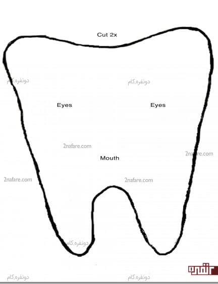 الگوی بالشتک دندان