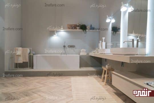 اکسسوری های کوچک و زیبا در طراحی حمام