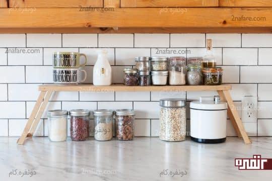 ایده های کاربردی برای ایجاد فضای بیشتر در آشپزخانه کوچک