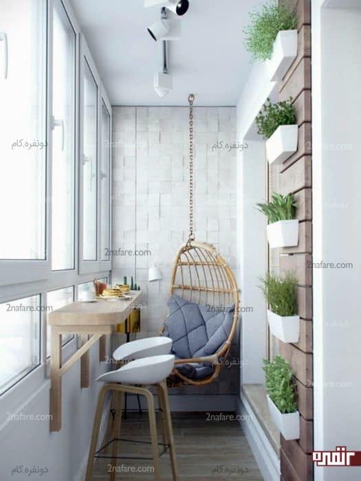 ایده های کاربردی برای طراحی میز صبحانه خوری در فضاهای کوچک